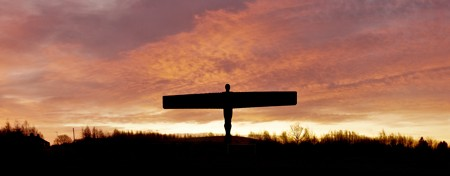 Angel of the north sunrise photo