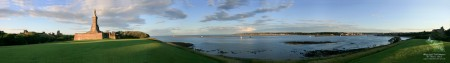 River Tyne Panoramic Photo