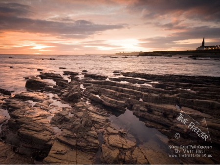 Cullercoats Sunrise Photograph
