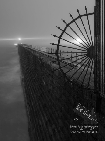 Tyenmouth Pier in the Fog