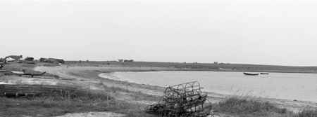 Panoramic Photo of Holy Island Northumberland