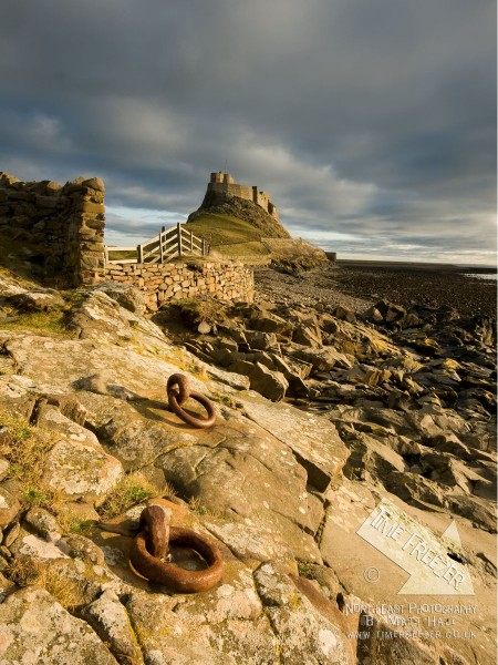 Holy Island Lindisfarne Castle Sunrise Photo