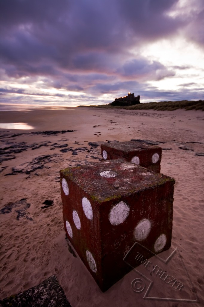 Bamburgh Castle Sunset