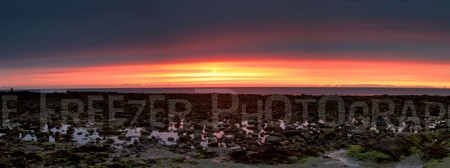 Sunrise Panoramic St Marys Lighthouse