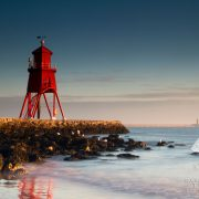 Sunrise Photo of the groyne in south shields