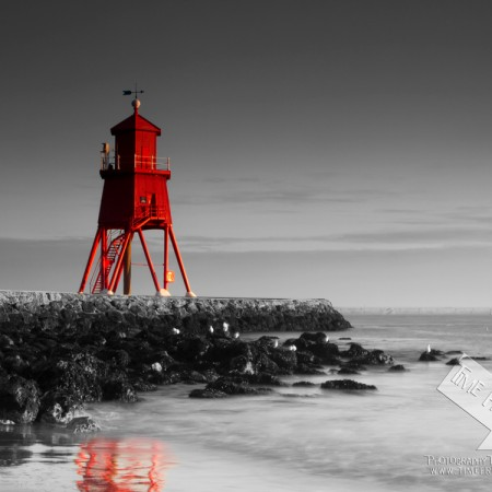 South shields groyne photograph