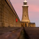 Tynemouth Lighthouse 2 colour