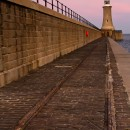 Tynemouth Lighthouse 3 colour
