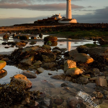 St Marys Lighthouse Sunrise Photo