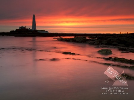 Natural Sunrise at St Marys Lighthouse