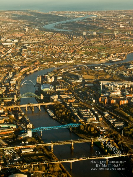 Newcastle Aerial Photograph