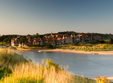 Alnmouth Sunset Photograph