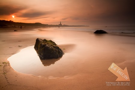 Tynemouth Longsands Sunset Photo