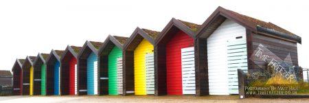 Blyth Beach Huts, South Beach, Northumberland