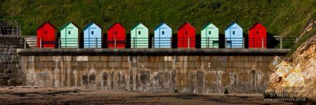 Cullercoats Bay Beach Huts