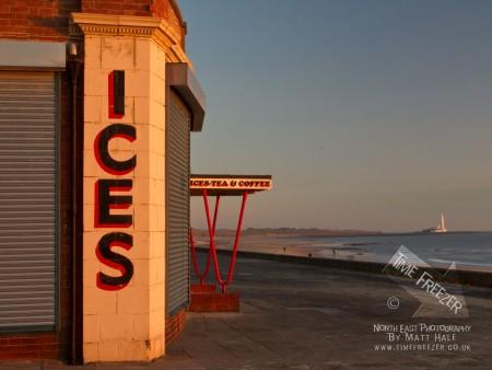 Rendezvous Cafe Whitley Bay Sunrise Photo