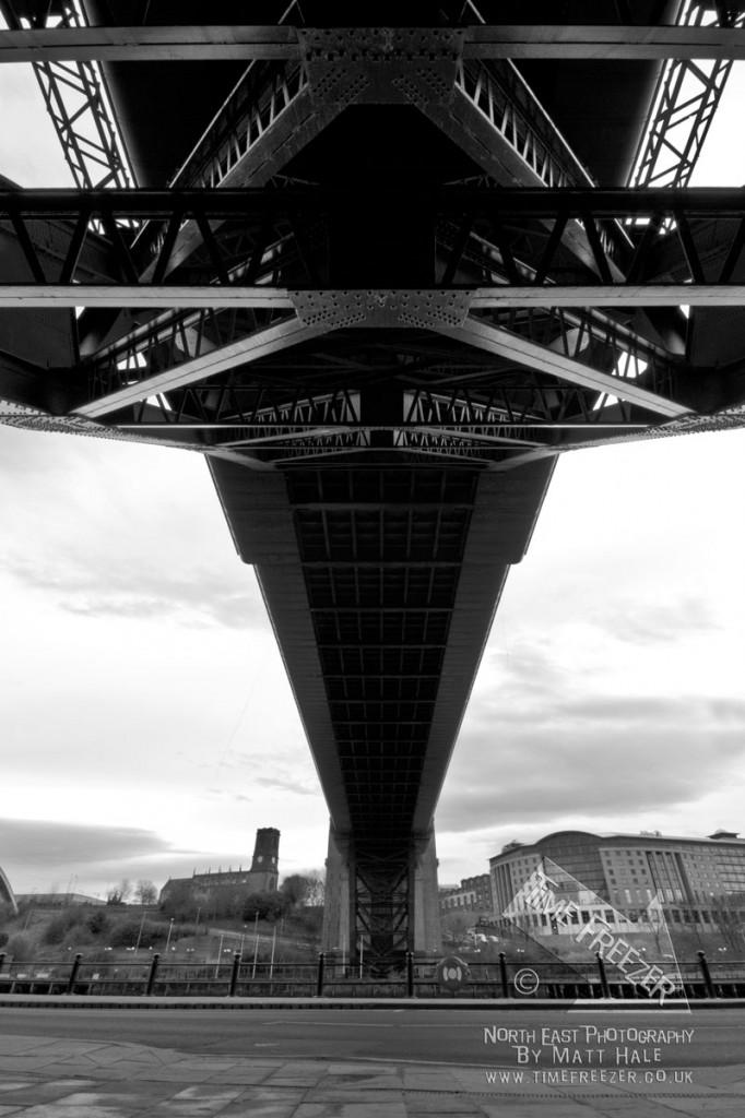 Tyne Bridge Newcastle River Tyne