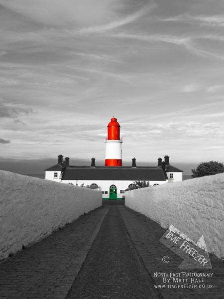 Souter Lighthouse Photograph