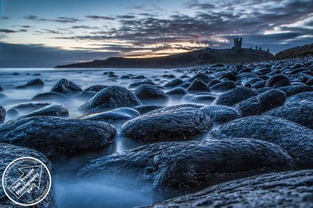 Dunstanburgh Castle Sunrise Photo