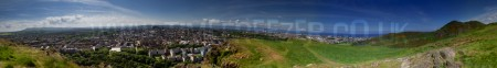 Edinburgh Scotland Pnaoramic Photograph