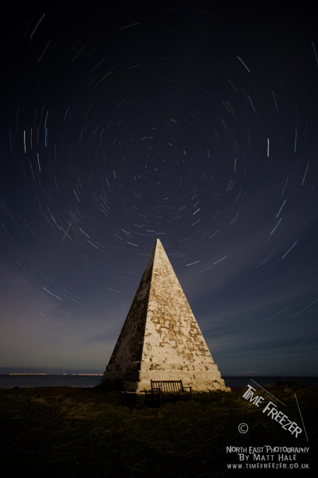 Emmanual Head Star Trail Holy Island