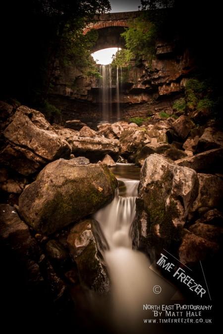 Waterfall near alston