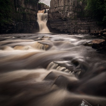 Photo of High Force waterfall county durham