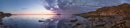 Panoramic Photograph of St Marys Lighthouse, Whitley Bay