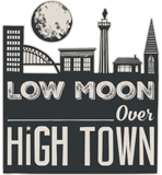 low moon over high town