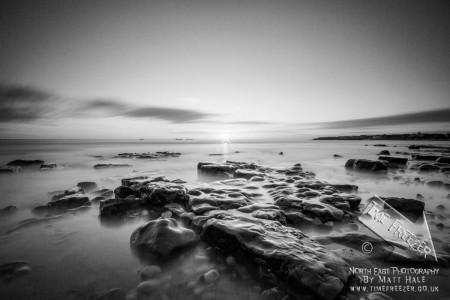 whitley bay sunrise photo