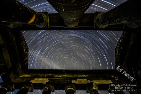 Penshaw Monument Star Trail
