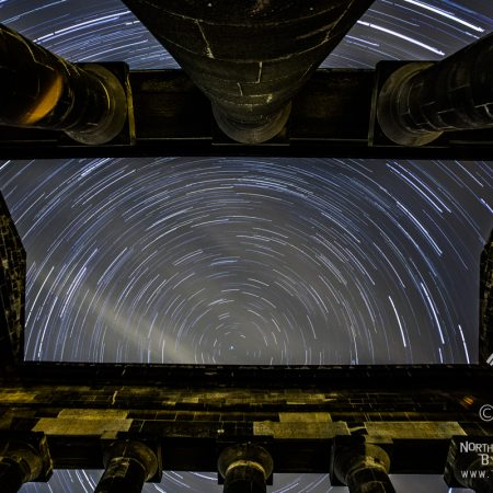 Penshaw Monument Star Trail