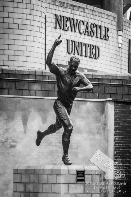 Alan Shearer Statue at St James Park