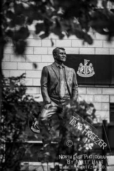 Bobby Robson statue at St James Park