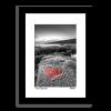 Heart Shape Rock at Tynemouth Pier