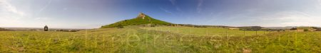 Roseberry Topping Panoramic Photograph