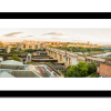 Sunset over River Tyne Bridges Panoramic