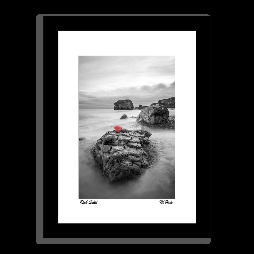 Heart Shaped Rock at Marsden Photo