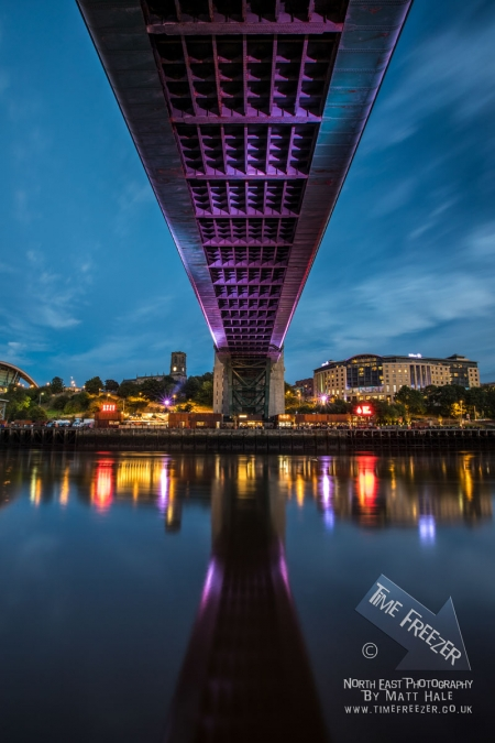 Photo Underneath the Tyne Bridge Newcastle