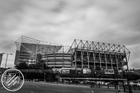 Photo of the Gallowgate end of St James Park
