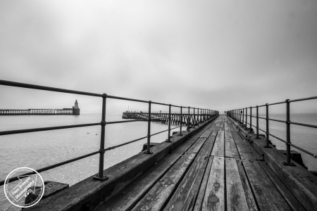 Blyth Pier and Lighthouse photo