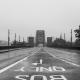 Foggy photo of the Tyne Bridge