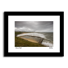 Tynemouth Longsands on a stormy day