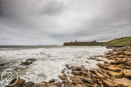 Stormy Seas in Tynemouth