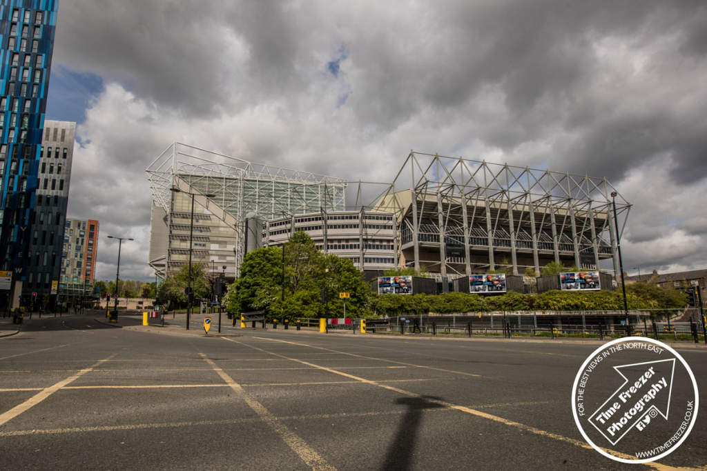 Photo of the Gallogate End of St James Park