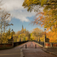 Photograph of Armstrong Bridge in Autumn