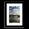 Framed Picture of the Newcastle Gateshead Millennium Bridge