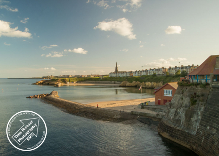 Cullercoats Bay In Summer Photo