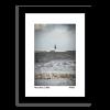 Framed Photo of Waves Crashign at Seaburn